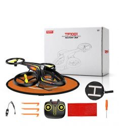 SYMA TF1001 Helifury 360 Altitude Hold Mode 3D Flips LED RC Drone Quadcopter RTF with Landing Pad