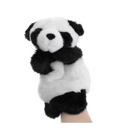 Baby Plush Toys Cute Cartoon Panda Hand Puppet Baby Kids Doll Plush Toy Hand Puppets Children Story