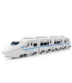 FERPECT TOYS 757P-006 1/45 27MHZ 82cm Electric RC Train Harmonious CRH Rail Car Model