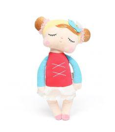 Metoo Angela Lace Dress Rabbit Stuffed 33CM Plush Dolls Toy For Children Girl Kids