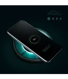 NILLKIN Magic Disk 4 Fast Qi Wireless Charger for iPhone 8 Plus X Samsung Galaxy S8 Plus