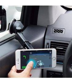 Bakeey ATL-3 2 in 1 Magnetic Phone Stand Sucker Car Air Outlet Holder for iPhone Samsung Xiaomi