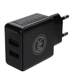 WK 2.1A EU Plug Fast Travel Wall Charger With Micro USB Cable For iPhone X 8 Oneplus 5t Xiaomi 6 S8