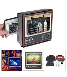 """8 Smart Phone Screen Magnifier DIY Assemble 3D Effect Phone TV Holder"""""""