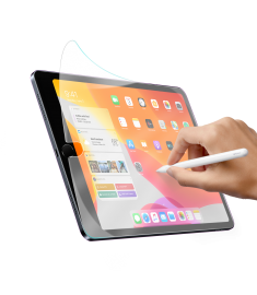 Baseus 0.15mm Paper-like Oil Proof Anti Slip PET Screen Protector For iPad 10.2 Inch 2019