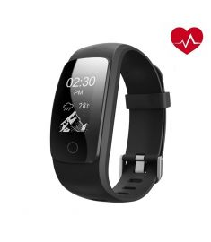 ID107 PLUS HR 0.96 Inch GPS Anti Lost Heart Rate Monitor Smart Wristband Bracelet Fitness Tracker