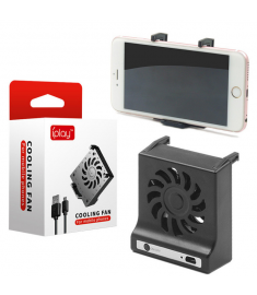 IPLAY Desktop Cooling Fan Heat Dissipation Phone Holder For Mobile Phones iPhone XS Max Samsung Galaxy S10