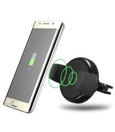 Qi Wireless Air Vent Car Mount Charger Dock Mount Holder For Samsung S8 S7