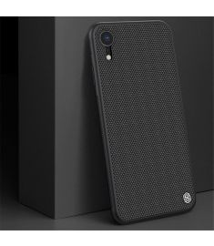 NILLKIN 3D Texture Shockproof Hard PC + Soft TPU Back Cover Protective Case for iPhone XR