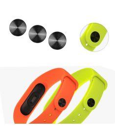Mi-jods Black Band Buckle for Xiaomi Miband 2 Smart Wristband Wrist Strap