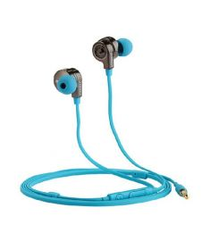 PISEN G105 in-ear Earphone 3.5mm Flat Cable 0.8M 2.62ft Headset for Smartphone