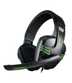Salar KX101 3.5mm Over Ear Gaming Deep Bass Omni Directional Microphone Adjustable-Headbrand Headphone