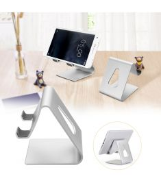 Universal Aluminium Desktop Phone Stand Lazy Holder Cradle Mount for iPad iPhone Samsung Xiaomi