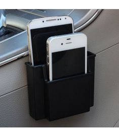 Universal Car Air Vent Mount Dashboard Phone Holder Sundry Storage Box Organizer