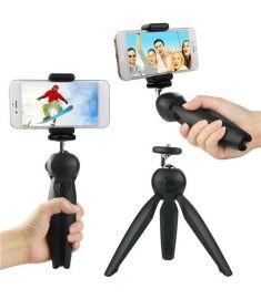 Yunteng YT-228 Mini Tripod Flexible Portable Stand Phone Holder for Phone Digital Camera SLR