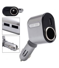 DC 12-24V Car Cigarette Lighter Socket Adapter With 3 USB Port Car Charger
