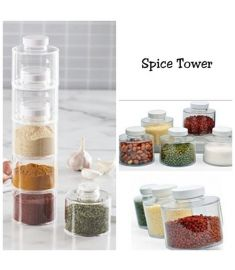 Aladdin online mall spice tower/Masala box/condiment box