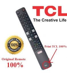 TCL LCD/LED TV REMOTE S6500 SMART ANDROID LED TV - ORIGINAL REMOTE